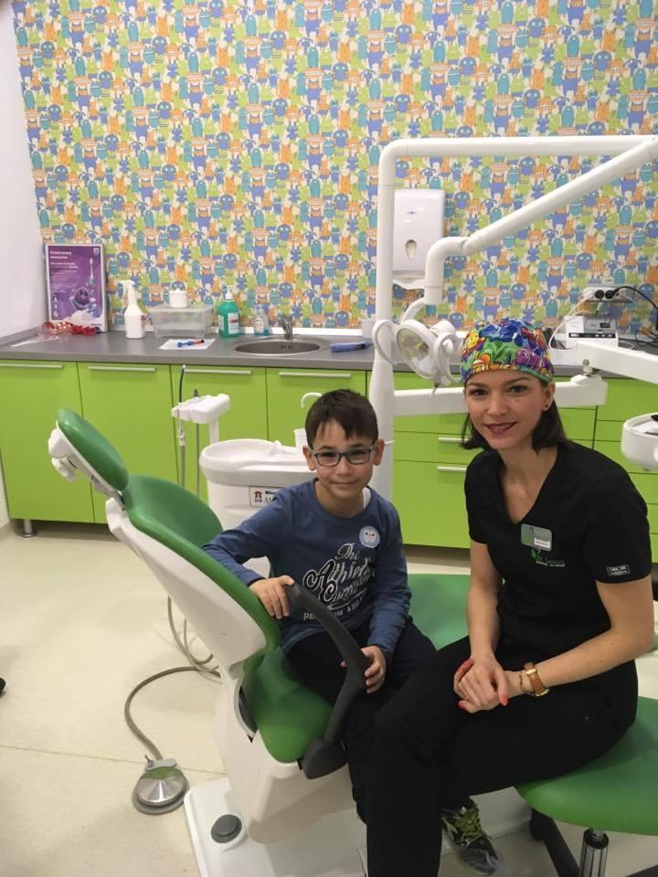 Copiii vin la medicul dentist ca in vizita la un prieten
