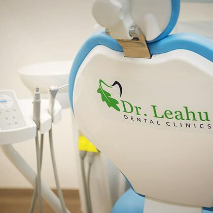 Imagine dintr-un cabinet dentar din clinica stomatologică Dr. Leahu Caramfil, Sector 1