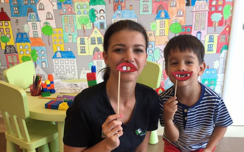 Copiii și frica de medicul dentist