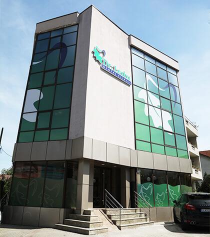 Clădirea Clinicii stomatologice Dr. Leahu Pitești