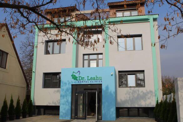 Sediul clinicii stomatologice Dr. Leahu Timișoara