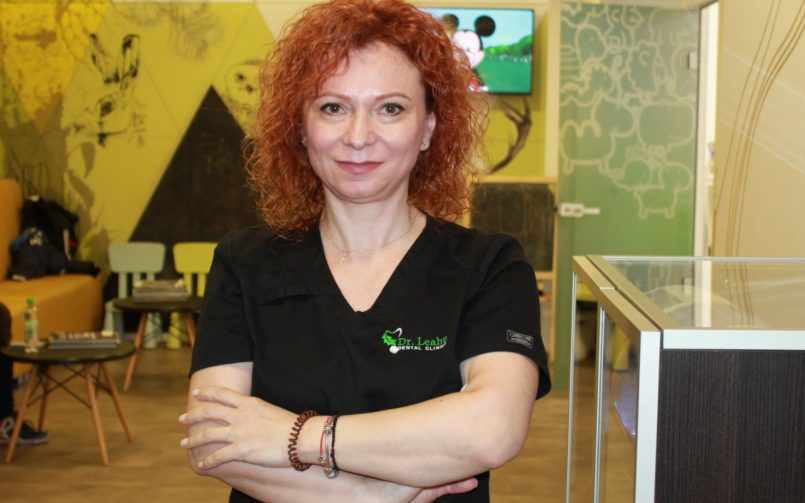 """Medicul Mihaela Șerbănoiu: """"Iubesc copiii și de aceea am ales pedodonția"""""""