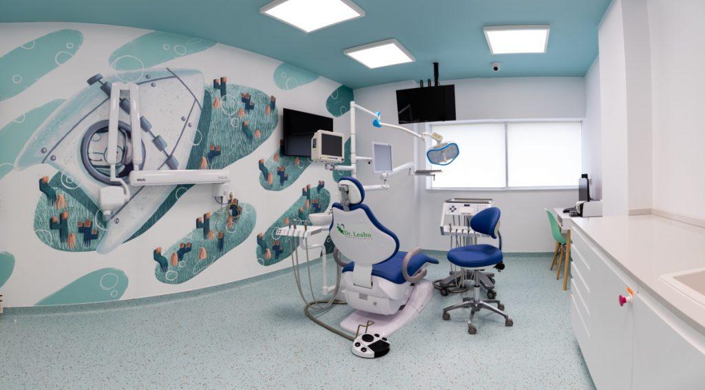 Cabinet stomatologic pentru copii, la Academia Spatiala Dr. Leahu
