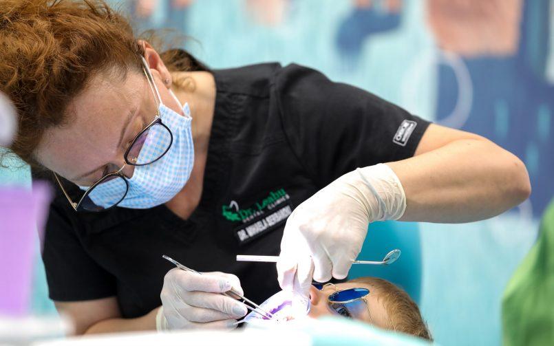 Stomatologie copii cabinet aparate dentare