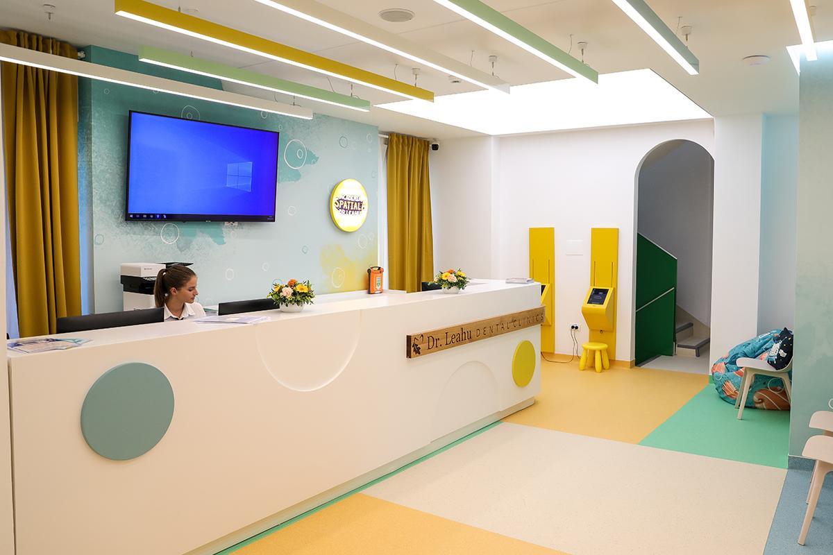 Sediul clinicii detare pentru copii Academia spatiala Dr Leahu Victoriei