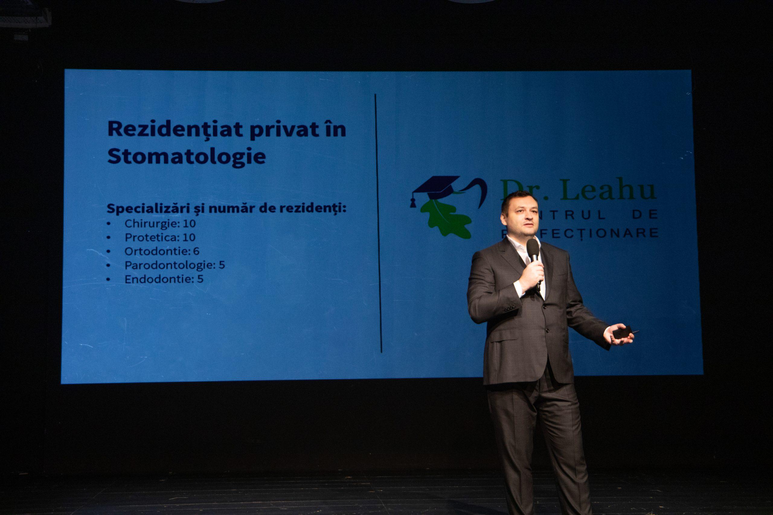 Dr. Leahu la conferinta din ianuarie 2020