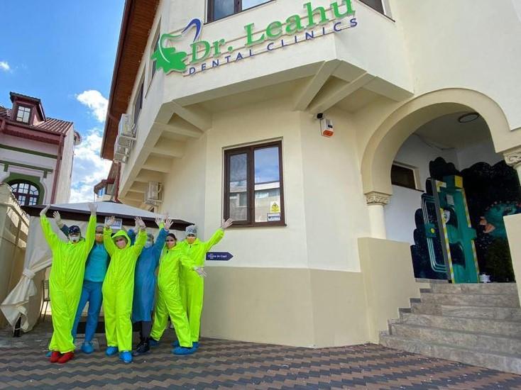 Academia Spatiala Dr. Leahu cort de triaj si echipa de medici pregatita pentru pandemie