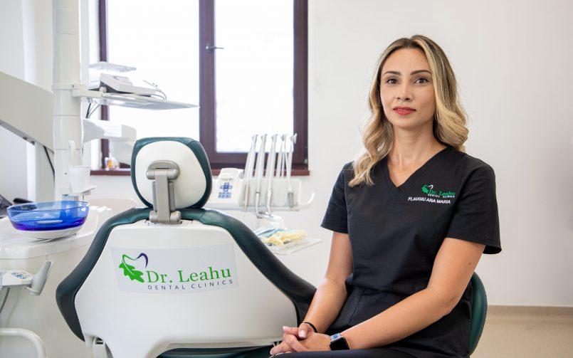 Dr. Ana Flaugiu, medic endodont Clinicile Dentare Dr. Leahu