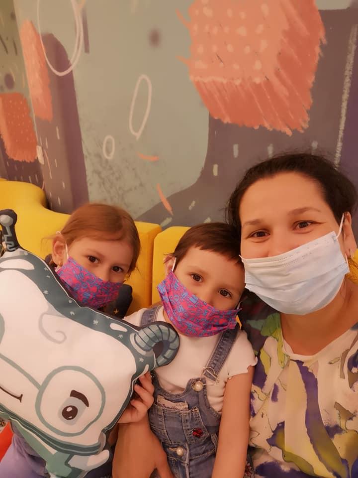 Pacienți în Aademia Spațială Dr. Leahu