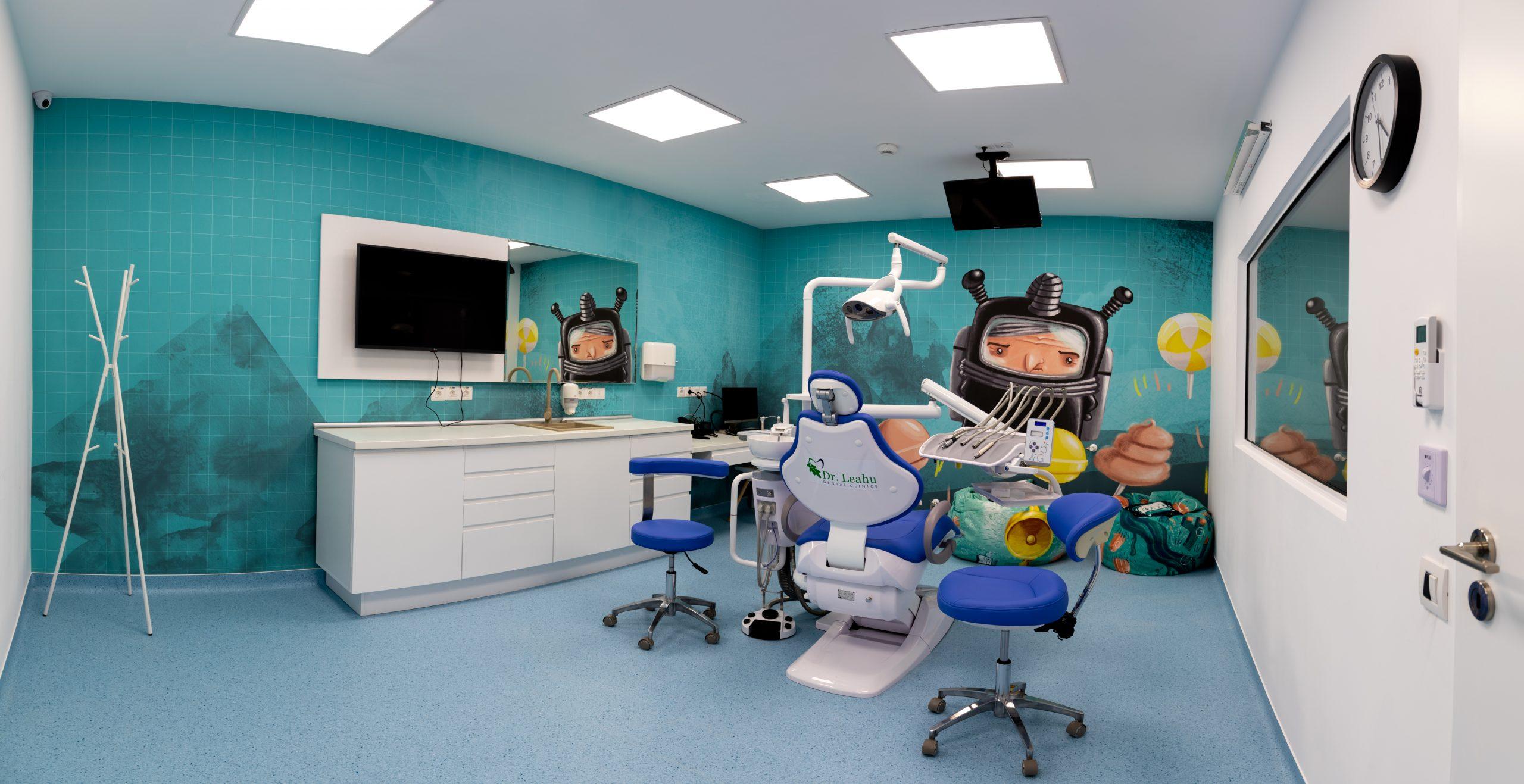 cabinet copii Clinicile Dentare Dr. Leahu Iasi