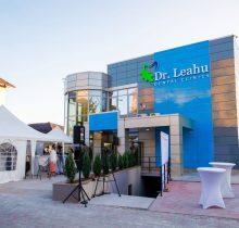 Vedere din exterior a clinicii stomatologice Dr Leahu Iasi