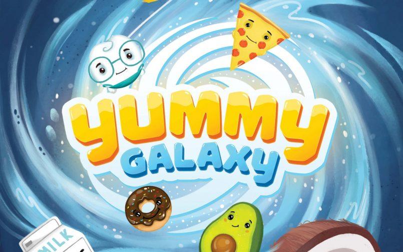 Poster joc Yummy Galaxy Dr. Leahu
