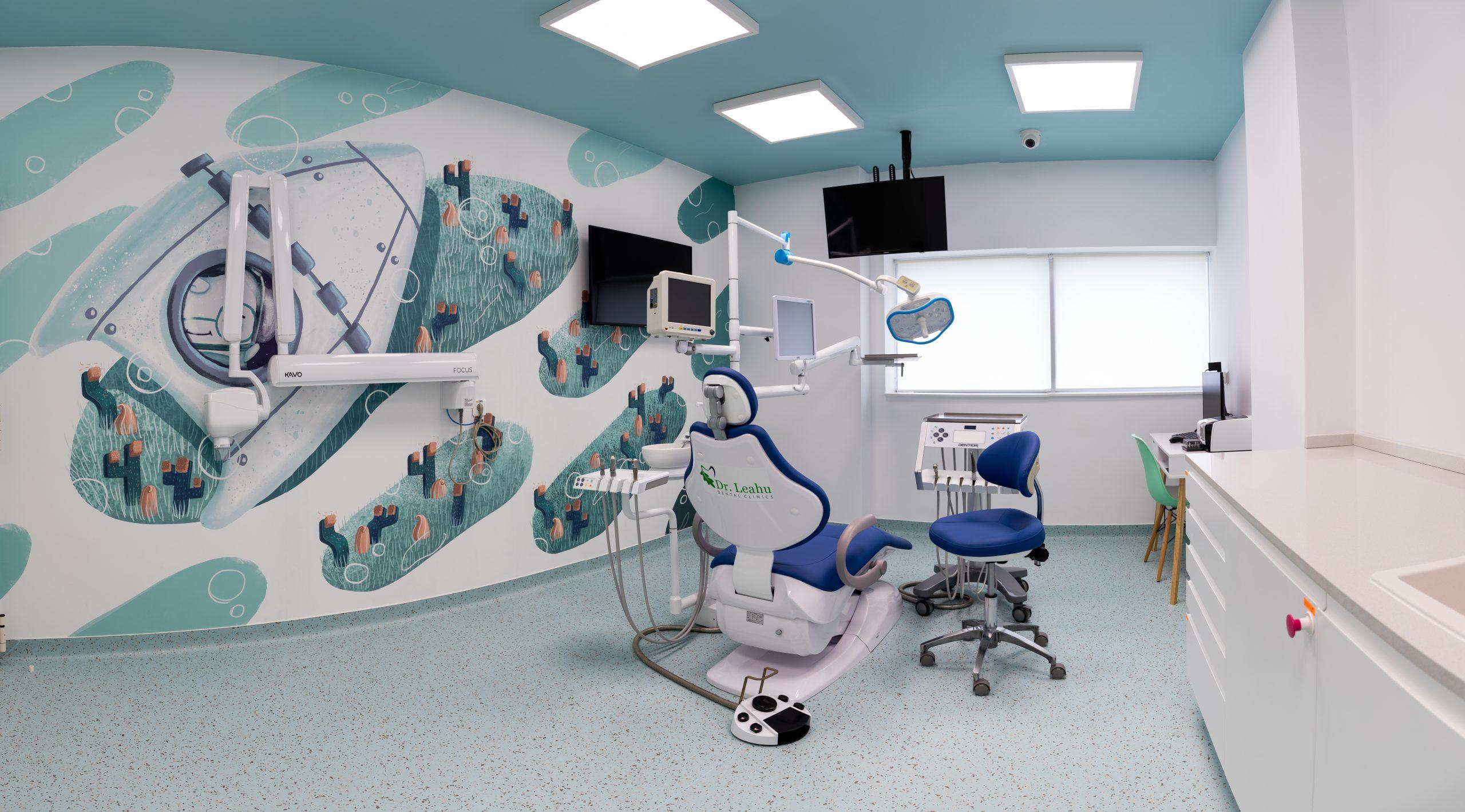 Cabinet stomatologic copii Clinicile Dentare Dr. Leahu
