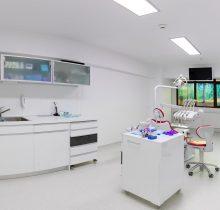 Cabinet dentar cu aparatura ultramoderna, din clinica stomatologica Dr. Leahu Sibiu