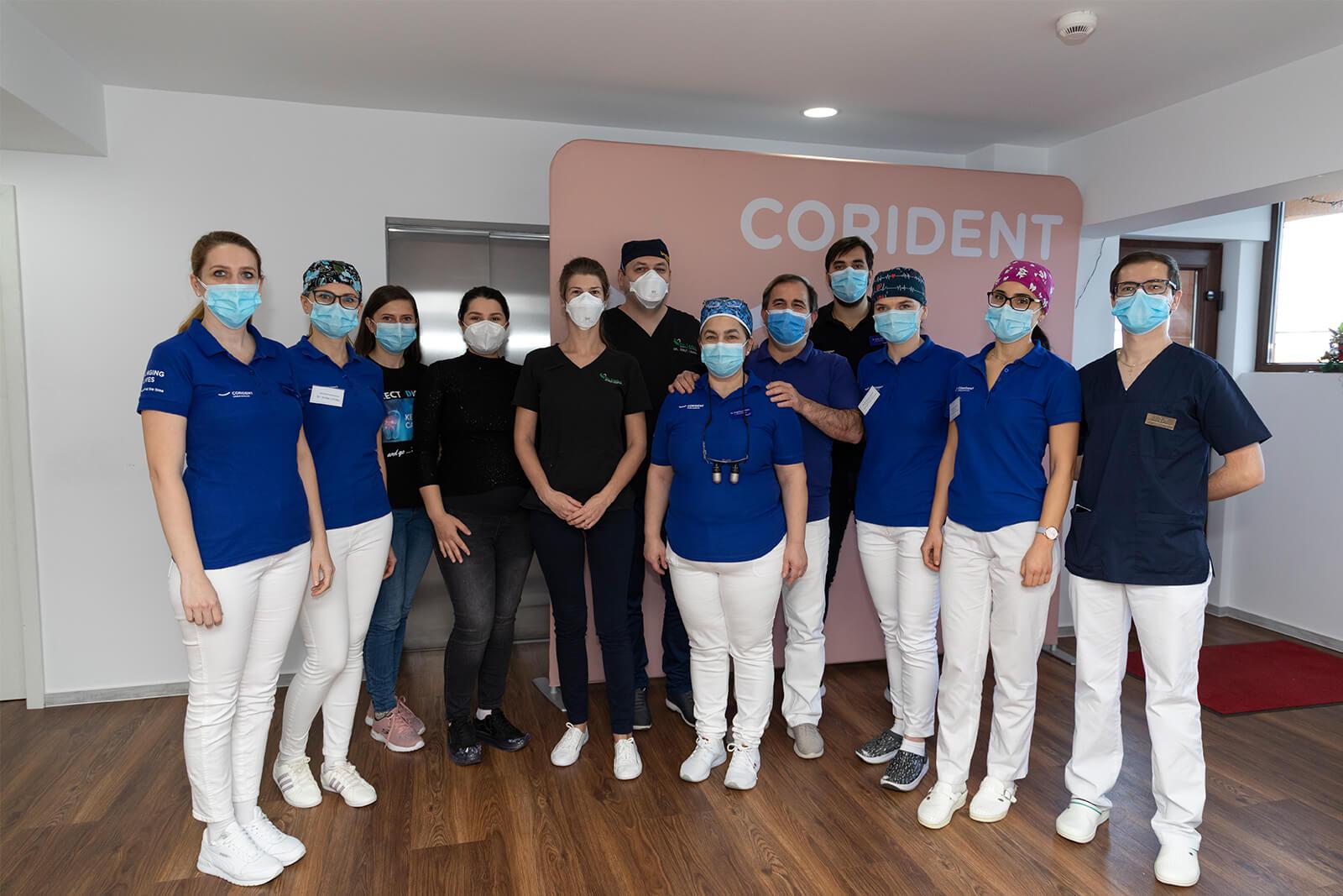 Echipa noii clinici stomatologice Dr. Leahu, din Sibiu