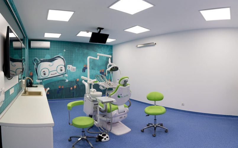 Cabinet stomatologic copii cu tuti,dintisorul zurliu