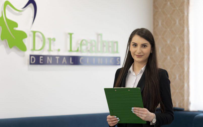 reprezentant pacient in clinica Dr. Leahu Caramfil