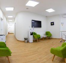 Clinicile Dr Leahu Ploiești sala așteptare