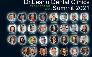 Primul eveniment online Dr. Leahu Dental Clinics Summit