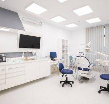 Vedere dintr-un cabinet din Clinica dentara Dr. Leahu din Galati