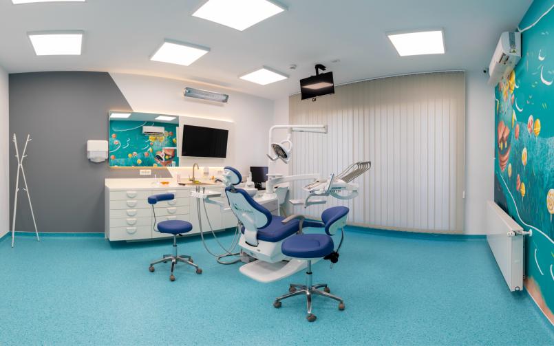 cabinet stomatologic dotat cu aparatura medicala moderna