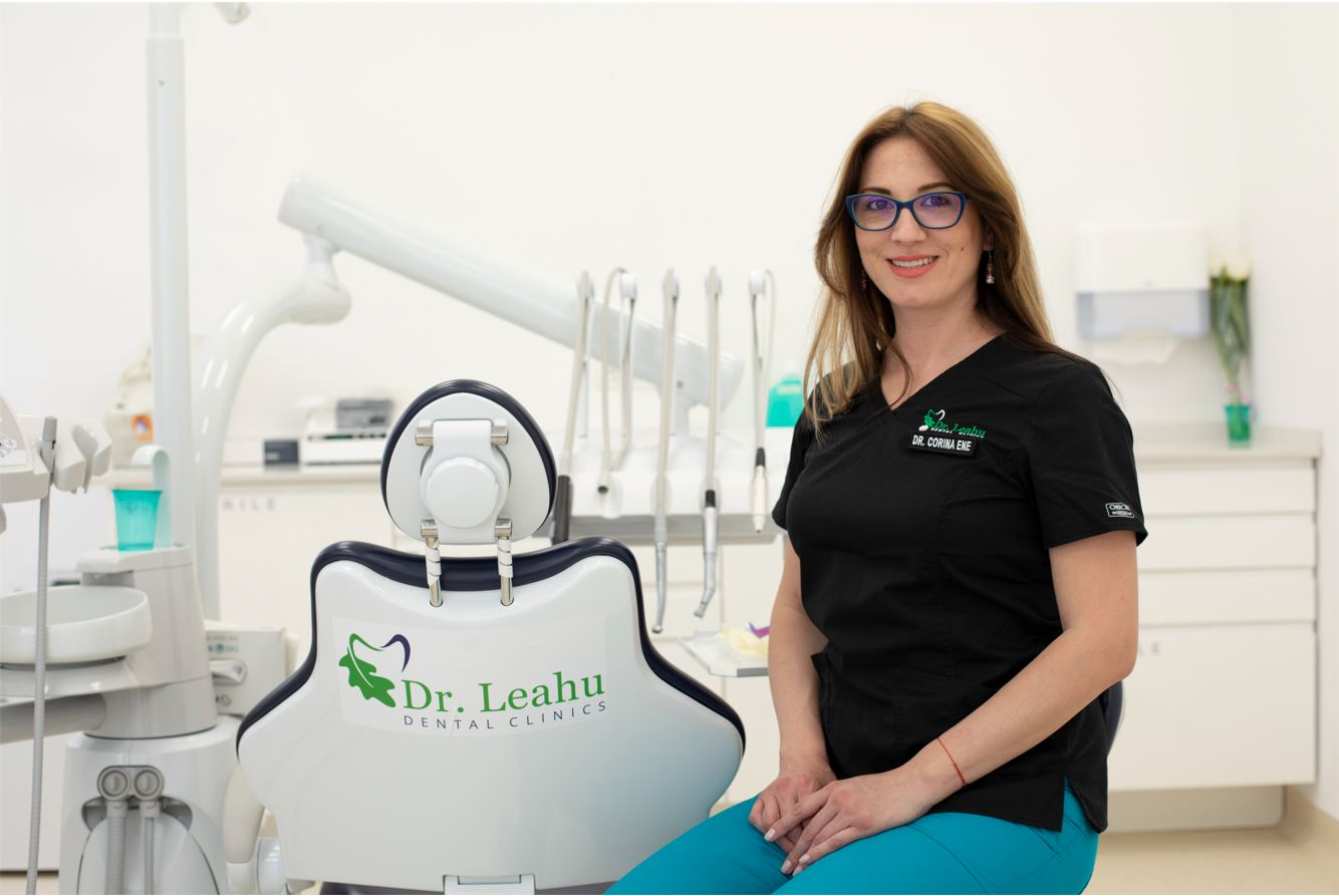 Dr. Corina Ene, Clinicile Dentare Dr. Leahu