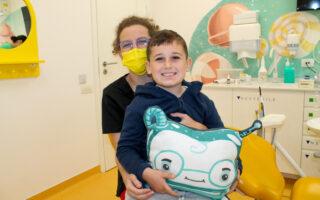 Cum decurg vizitele la Academia Spațială Dr. Leahu, locul în care copiii vin cu drag la stomatolog
